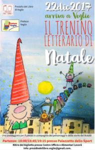 Il 22 Dicembre arriva a Veglie il «TRENINO LETTERARIO DI NATALE» del Presidio del Libro e della Pro Loco